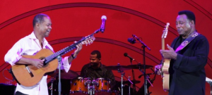 Earl Klugh & George Benson at The Playboy Jazz Festival in 2010.  Photo courtesy of LAJazz.com