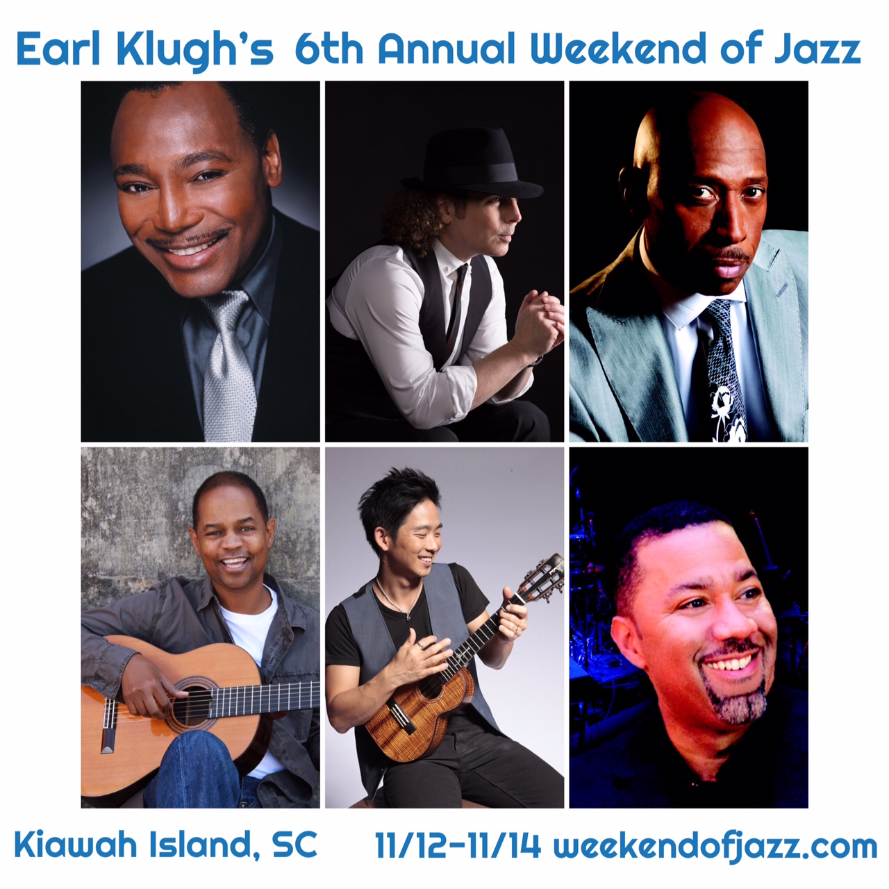 Earl Klugh's 6th Annual Weekend of Jazz at Kiawah Island!